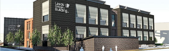 Working on Phase 2 of Leeds College of Building