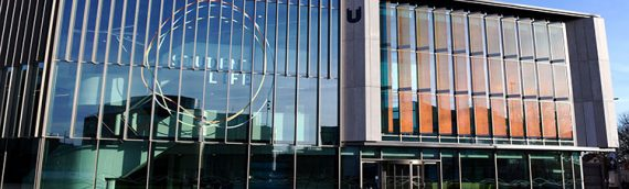 Award-winning Teesside University Student Life Building, Middlesbrough