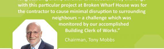 Broken Wharf House Aparthotel development, London